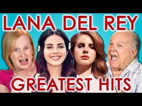 This is great!!   Elders Read lyrics from Lana Del Rey's hit songs ❤ | YouTube video