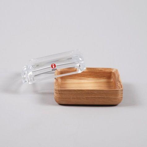 // Iittala Vitrini 108x108 - Clear/Oak