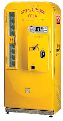 VMC-81 Royal Crown Soda Vending Machine