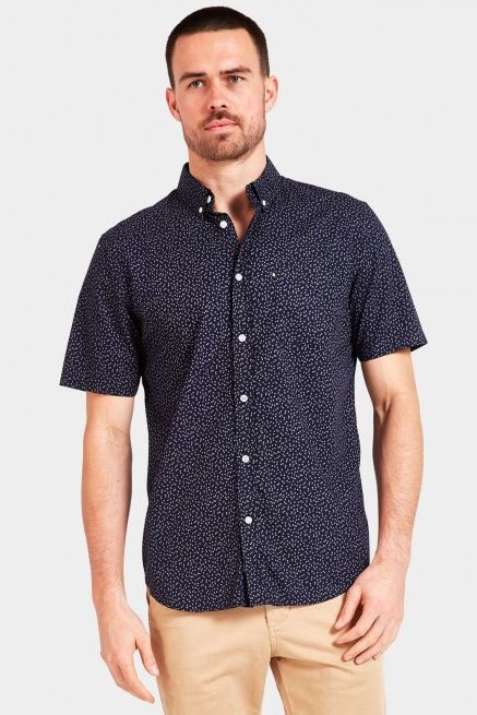 The Academy Brand - Flynn Shirt - Navy