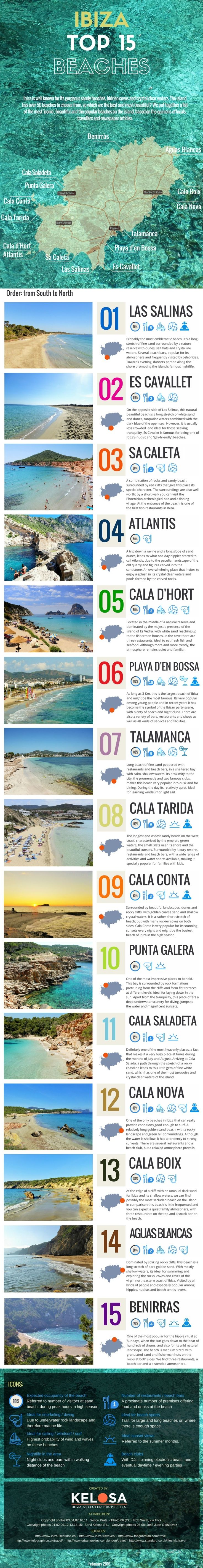 Ibiza's Top 15 Beaches