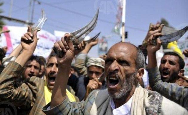 Pasukan Saudi Gempur Syiah Houthi karena Masuki Perbatasan Dekat Nazran Secara Ilegal  Pemberontak Syiah Houthi yang masuki perbatasan dekat Najran secara ilegal berhasil dihentikan pasukan Saudi setelah berlangsung baku tembak kedua pihak  NAJRAN (SALAM-ONLINE): Pasukan Saudi Arabia menggempur pemberontak Syiah Houthi yang setia kepada mantan Presiden Yaman Ali Abdullah Saleh di wilayah perbatasan dekat Najran.  Baku tembak terjadi setelah beberapa milisi Houthi memasuki perbatasan Saudi…