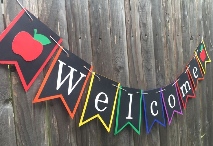 A personal favorite from my Etsy shop https://www.etsy.com/listing/471304827/classroom-welcome-banner-back-to-school