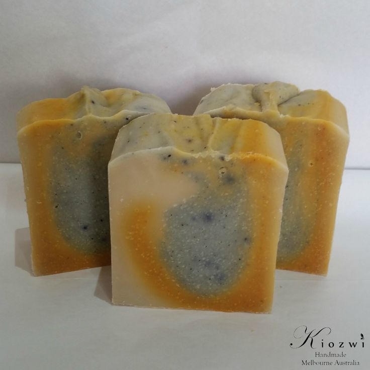 Chamomile Grapefruit Goats Milk Soap  http://www.kiozwi.com.au/goats-milk-soaps-essential-oils/