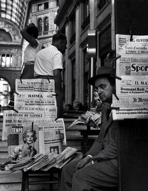 Naples 1960 Photo: Herbert List