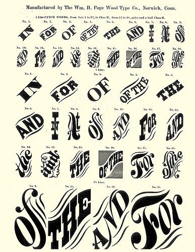 wood catchwords - Google Search
