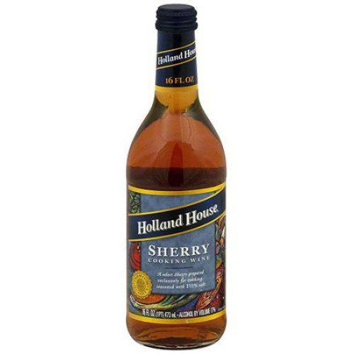 Holland House Sherry Cooking Wine, 16 oz (Pack of 6) | #Grocery