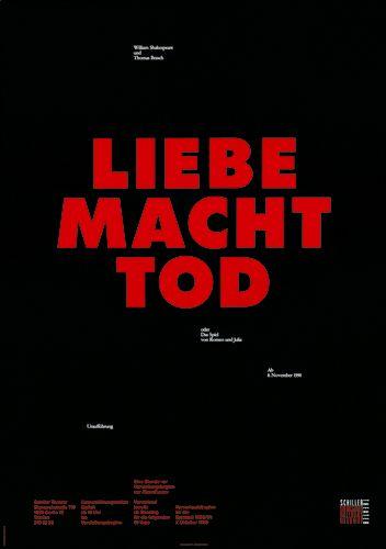 Liebe Macht Tod / / Ott+Stein 1990