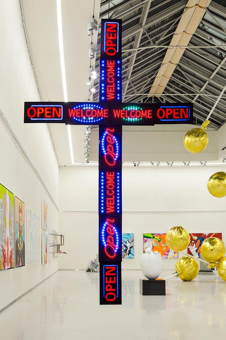 Praha, mánes, výstava Pasta Oner #Lighting #muzea #galerie #iGuzzini @iguzzini