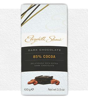Elizabeth Shaw sharing range 85% Cocoa extra dark bar - get the mood going by sharing one of these delicious bars this Valentine's Day. #ValentinesDay #chocolate