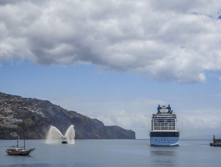 The Anthem of the Seas entering Funchal Harbour by Nigel Lomas on 500px