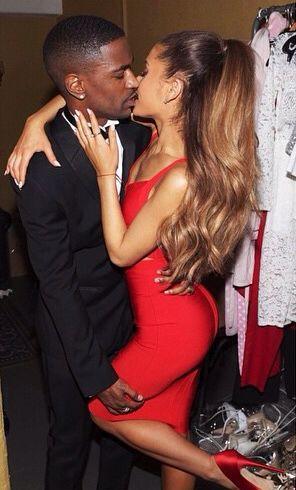 Bang Bang! Ariana Grande Kisses Boyfriend Big Sean in Sexy Photos