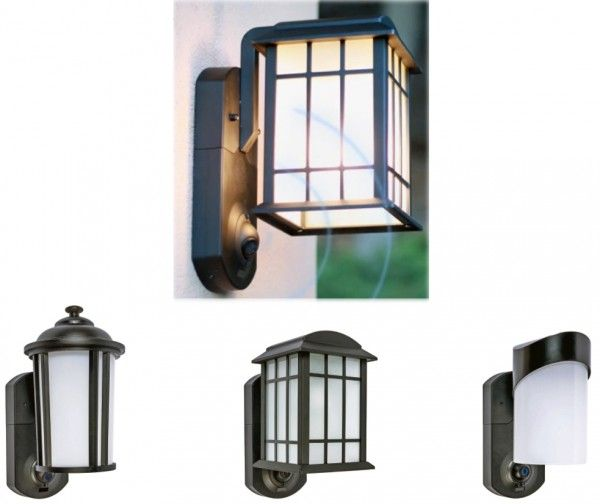Keep a eye on what's happening at your front door with the Kuna lighting fixture