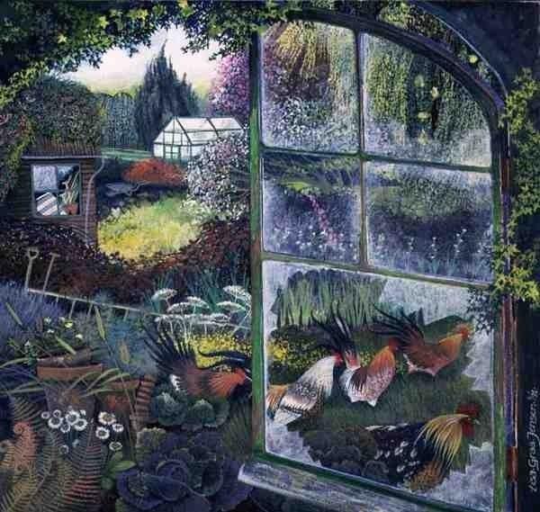 Lisa Graa Jensen -Broken Window