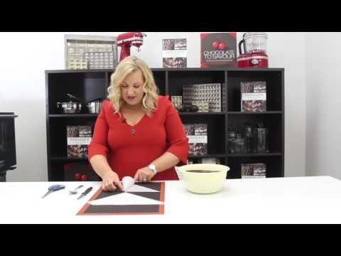 How to create a Piping Bag with Kirsten Tibballs | Chocolate Book - YouTube