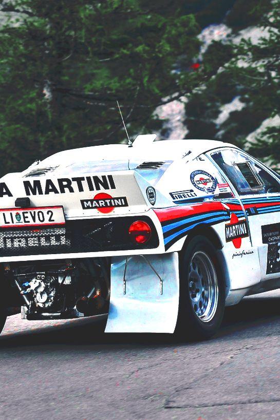 Lancia 037 Martini Lackierung