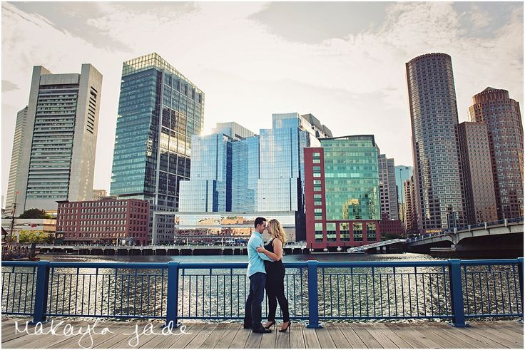 Fort Point South Boston Engagement Session by Makayla Jade