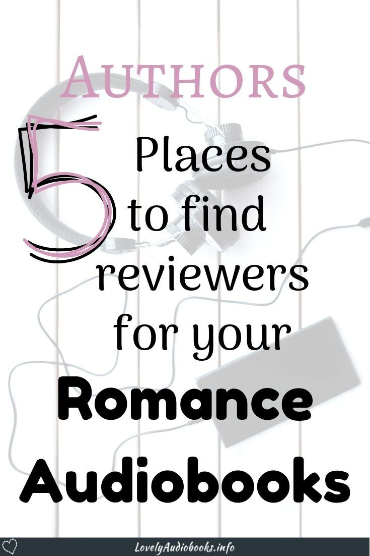 Where to find Free Audiobook Review Copies   Authors