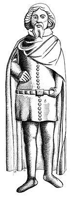 Edward the Black Prince, Prince of Wales (1330-1376):  Britannia