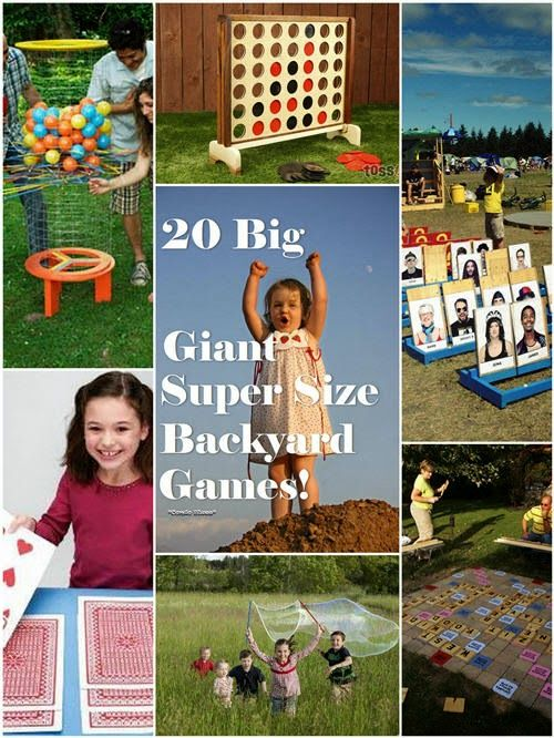 Big Backyard Party Ideas :  party ideas  Birthday  Pinterest  Outdoor Games, Game and Outdoor