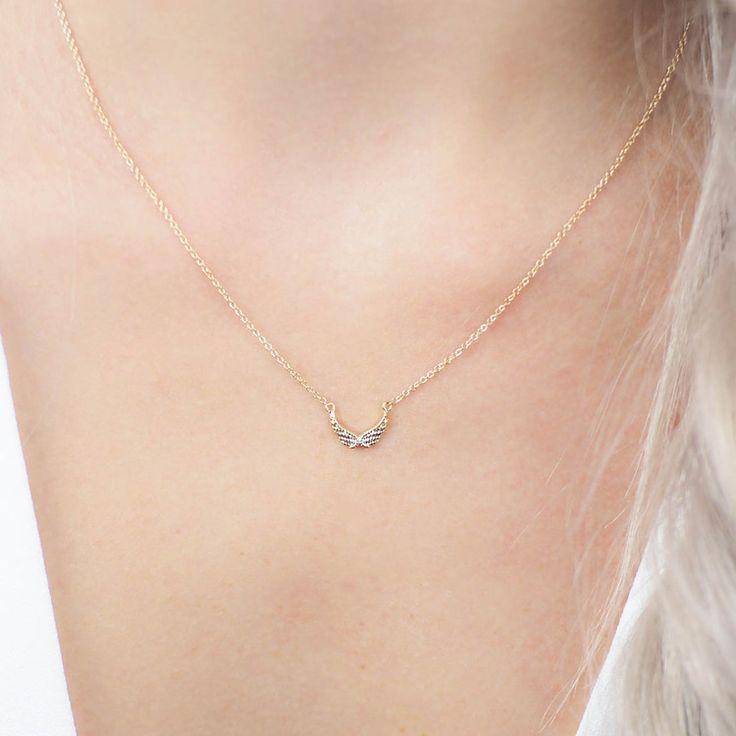 Guardian Angel Necklace & Earring Set - Kitsch