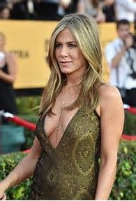Jennifer Aniston at 2015 SAG Awards(looks like she isn't sagging, either, he he!)