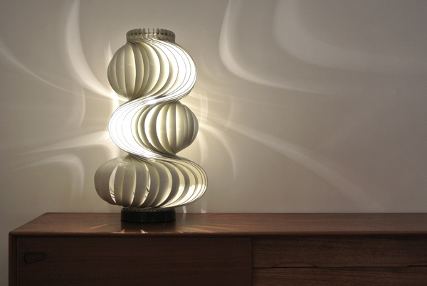 "Lamp ""Medusa"" by Olaf von Bohr, 1968 for VALENTI, Italy. Measures 67cm high, Diameter 40cm. Old, original piece. € 950,-"