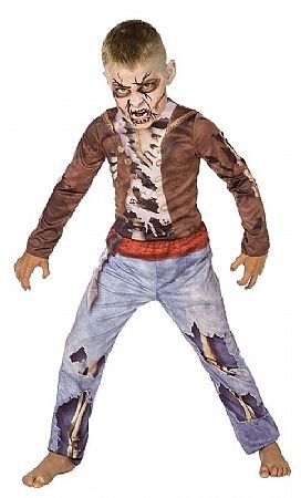 zombie pirate costume paint tears and bones on clothes. Black Bedroom Furniture Sets. Home Design Ideas
