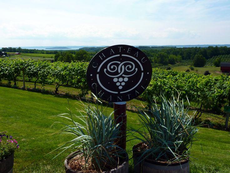 Traverse City Wine Country (chateau chantal)