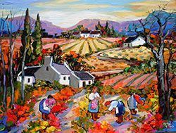 Marlise le Roux – Colourful landscape artist | Landscape Gallery