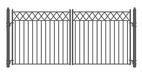 Images about dual swing driveway gates on pinterest
