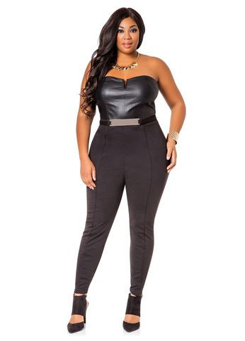 203 best plus size jumpsuits images on pinterest | unique, black