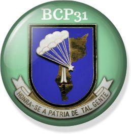picBadge BCP31 - Batalhão de caçadores Pára-quedistas Nº31 -