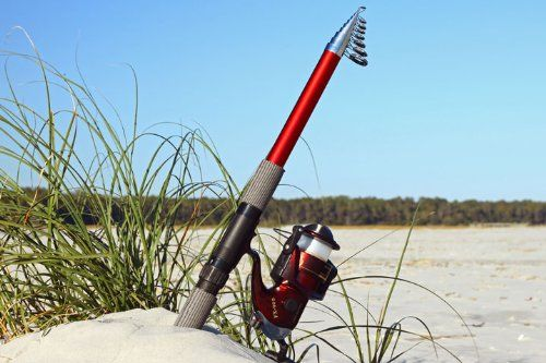 Need an affordable but good quality telescopic surf fishing rod? Take a look at this link for an honest and unbiased review of an excellent telescopic sea fishing rod.