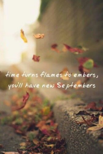 Everyone of us has messed up, too. Lives change like the weather. I hope you remember today is never too late to be brand new. ~Innocent~