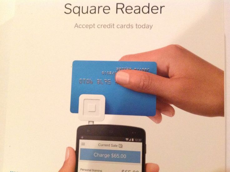 Square Credit Card Reader for iPhone, iPad, or Android #SQUARE