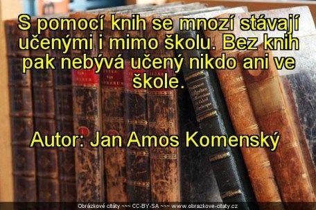 S pomocí knih se mnozí stávají.. (obrázek)