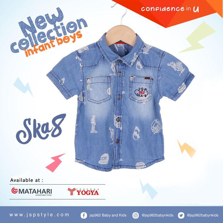 -Selamat pagi- Terinspirasi dari fashion anak-anak, JSP962 secara eksklusif menghadirkan desain pakaian terbaru dengan kualitas internasional. Siap melengkapi penampilan sehari-hari buah hati Anda. Temukan koleksinya lainnya www.jspstyle.com   #jsp #jsp962 #kids #baby #kidsfashion #kidsindo #kidsstyle #kidsclothes #kidsclothing #babykids #babyclothes #children #childrenclothes #mataharimall #yogyastore #bajuanak #anak