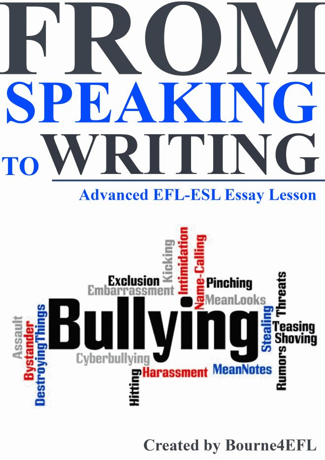 bullying essay lesson plan Follow the see plan  the elegant essay lesson plans 4 104 on your own, write: a clausal thesis, a thesis using parallelism, a thesis that qualifies .