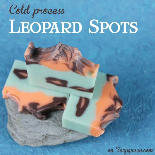Take a walk on the wild side with this trendy Leopard Spot Soap. This was yet another dramatic entry to the Great Cakes Soapworks Challenge series. It involves a unique frosting bag technique to achieve the fierce, big cat-inspired spots. For those of you looking to expand your soaping skill set, this is the tutorial for you!