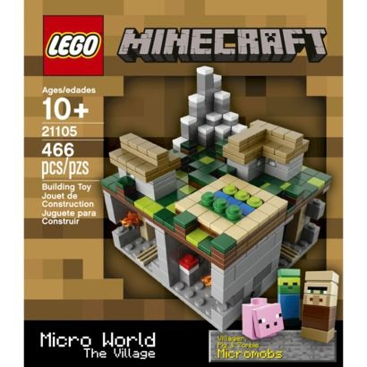 LEGO® CUUSOO Minecraft Micro World – The Village
