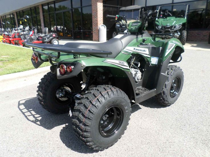 New 2017 Kawasaki Brute Force® 300 ATVs For Sale in North Carolina. The Brute Force® 300 ATV is perfect for riders 16 and older searching for a sporty and versatile ATV, packed with popular features, for a low price making it great value. Strong 271 cc liquid-cooled, four-stroke engine with electric start Ultra-smooth automatic Continuously Variable Transmission (CVT) has Hi / Lo ranges and reverse Rugged and powerful front and rear disc brakes Front and rear cargo racks and 500 lb. towing…
