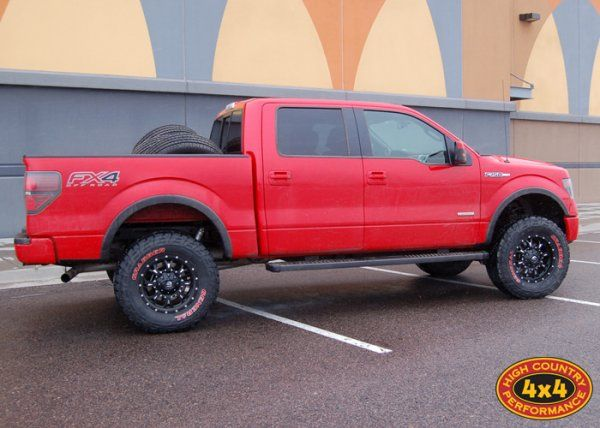 "Photo Gallery - 2013 F150 4"" BDS lift, General Grabbers -"