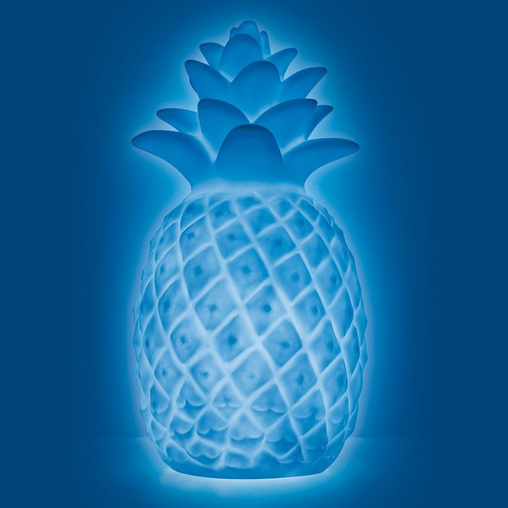 Mini Pineapple Color Changing Light Up Novelty Table Lamp West