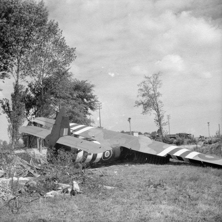 Horsa Glider  Pegasus Bridge Normandy 1944
