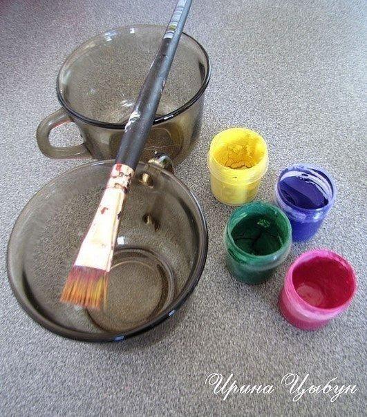 Цветной песок для декора