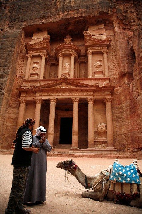 Petra, JordanRemember the Canyon of the Crescent Moon in Indiana Jones and the Last Crusade? It was…