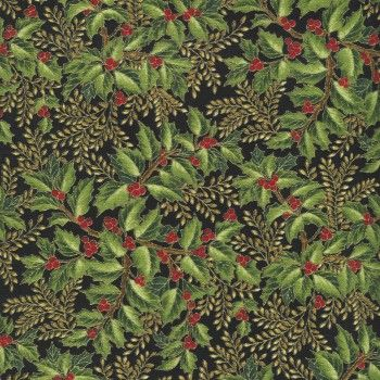 Robert Kaufman - Holiday Flourish APTM-7905-224 EVERGREEN