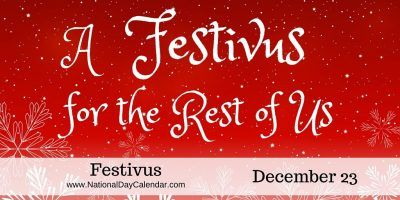 In a 1997 episode of the popular television comedy, Seinfeld, #Festivus was brought to the masses when Frank Costanza (played by Jerry Stiller) explains he invented Festivus in response to the commercialism of Christmas.