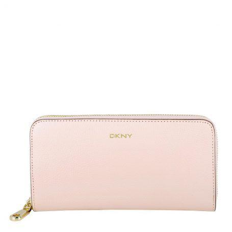Dkny Kleinleder – Slgs Chelsea Vintage Zip Around Wallet Light Pink – in rosa – Kleinleder für Damen